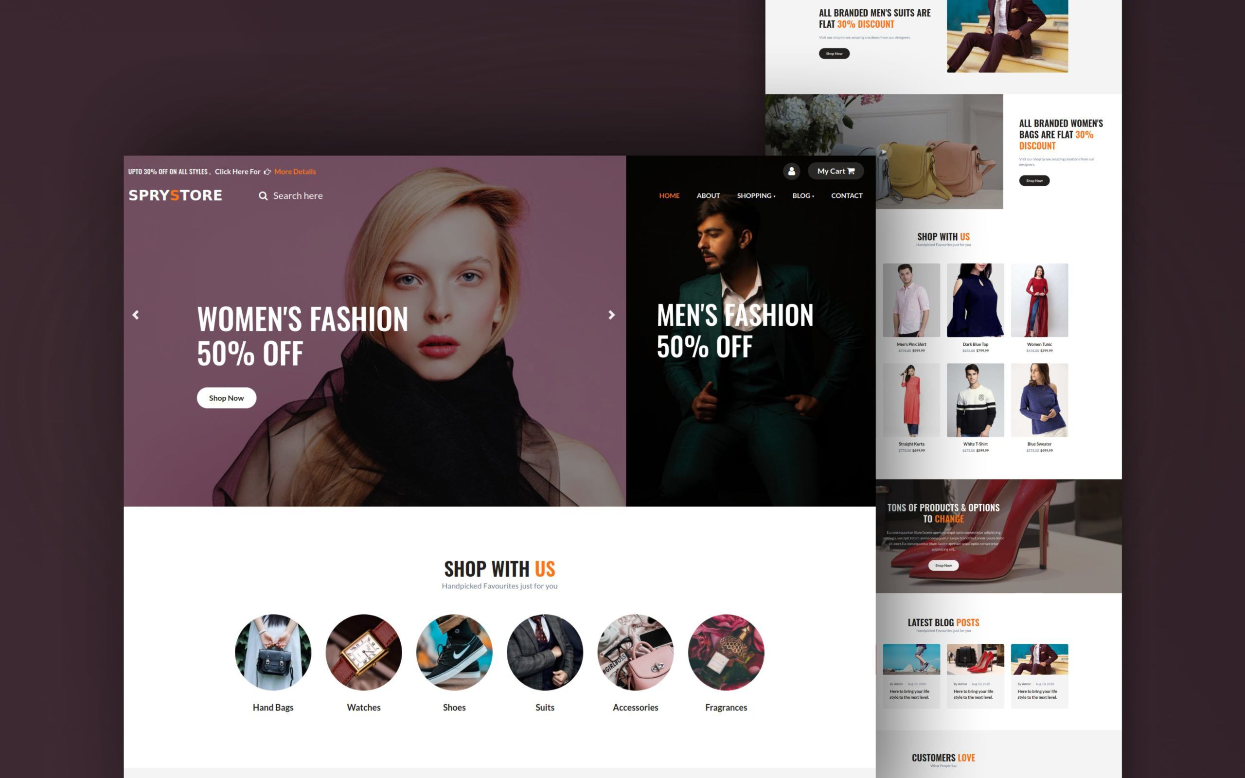 009 Simple Free Html Template Download For Online Shopping Website Sample  WebsitesFull