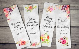 009 Simple Free Printable Bookmark Template High Definition  Templates Download Photo For Teacher