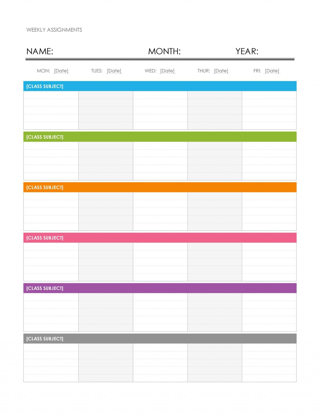 009 Simple Free Weekly Calendar Template High Resolution  Printable With Time Slot 2019 WordLarge
