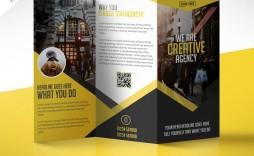 009 Singular Corporate Brochure Design Template Psd Free Download High Definition  Tri Fold Hotel
