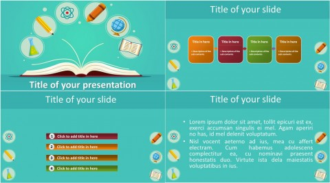 009 Singular Free Education Ppt Template Inspiration  Powerpoint For Teacher Creative Download Professional480