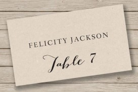 009 Singular Free Place Card Template Word Image  Blank Microsoft Wedding Name