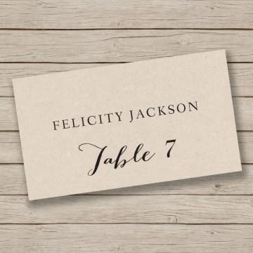 009 Singular Free Place Card Template Word Image  Blank Microsoft Wedding Name360