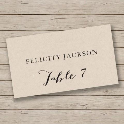 009 Singular Free Place Card Template Word Image  Blank Microsoft Wedding Name480