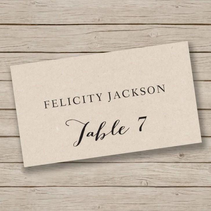 009 Singular Free Place Card Template Word Image  Blank Microsoft Wedding Name728