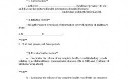009 Singular Medical Record Request Form Template High Definition  Free Release Authorization