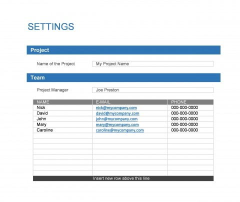 009 Singular Microsoft Word Project Plan Template Concept  Simple Management480