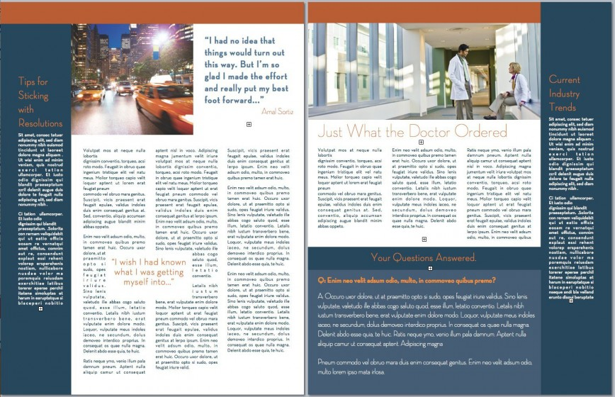 009 Singular M Publisher Newsletter Template Design  Microsoft Office Free Download