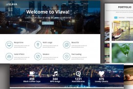 009 Singular One Page Website Template Html5 Responsive Free Download Photo