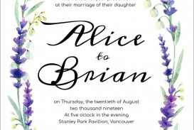 009 Singular Printable Wedding Invitation Template Highest Quality  Free For Microsoft Word Vintage