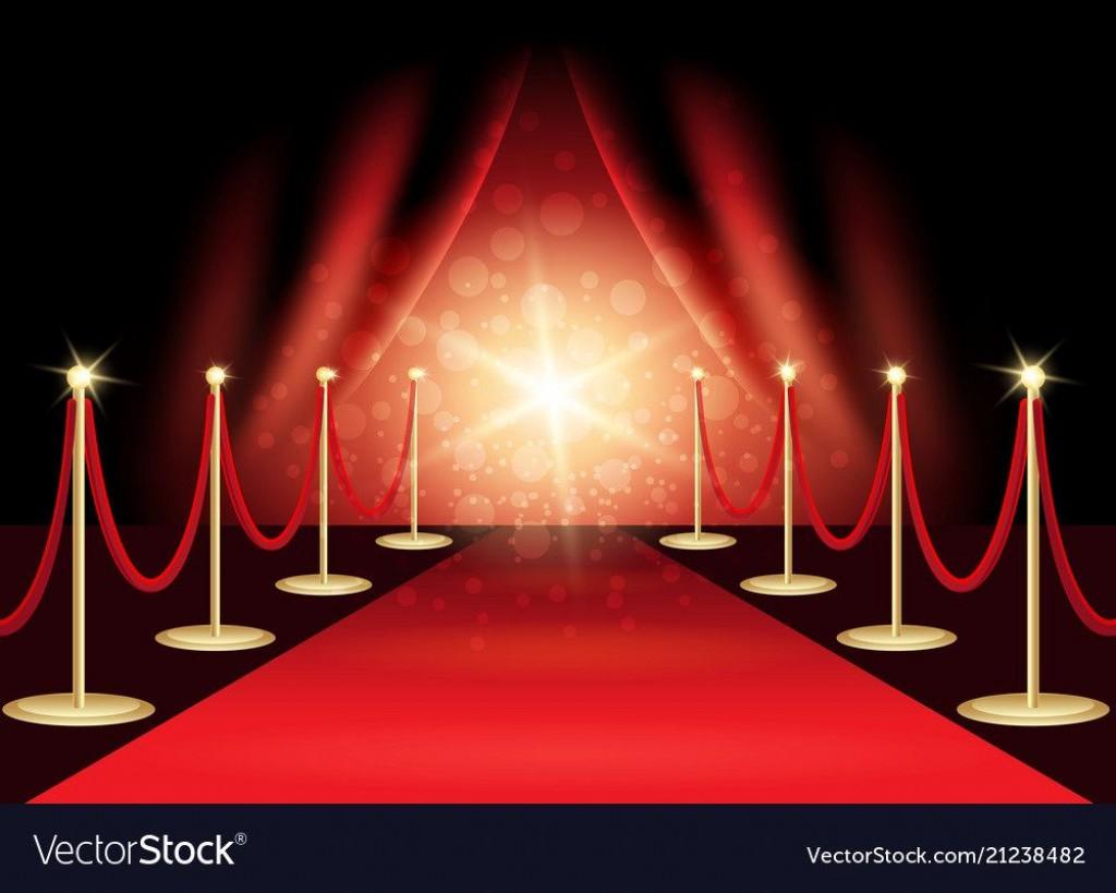 009 Singular Red Carpet Invitation Template Free Highest Quality  DownloadLarge