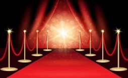 009 Singular Red Carpet Invitation Template Free Highest Quality  Download
