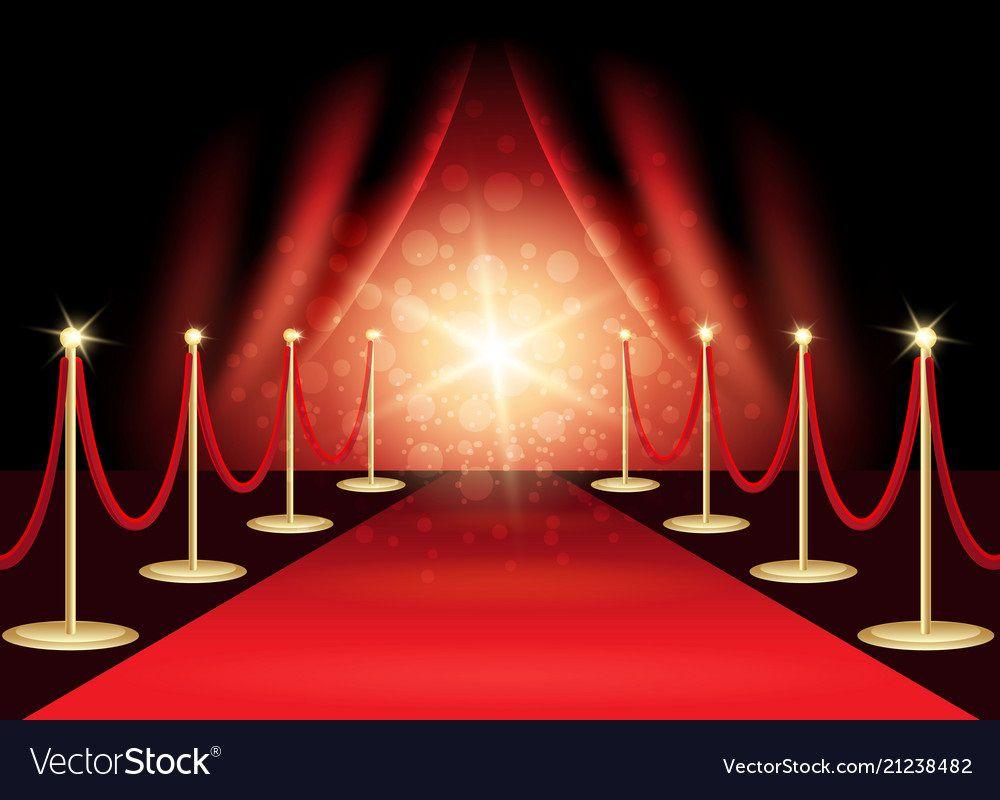 009 Singular Red Carpet Invitation Template Free Highest Quality  DownloadFull