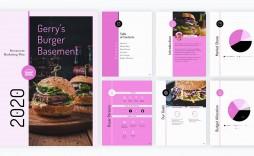 009 Singular Restaurant Marketing Plan Template Free Download Inspiration