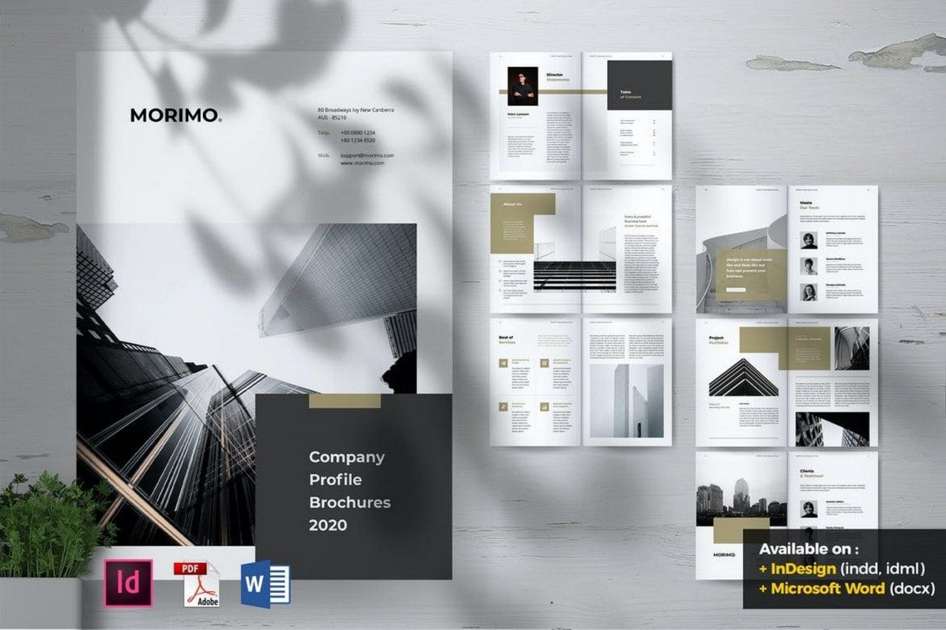 009 Singular Word Brochure Template Download Free Highest Quality  3 Fold Travel Tri1920