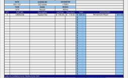 009 Staggering Auto Repair Invoice Template Free High Def  Excel Printable Pdf