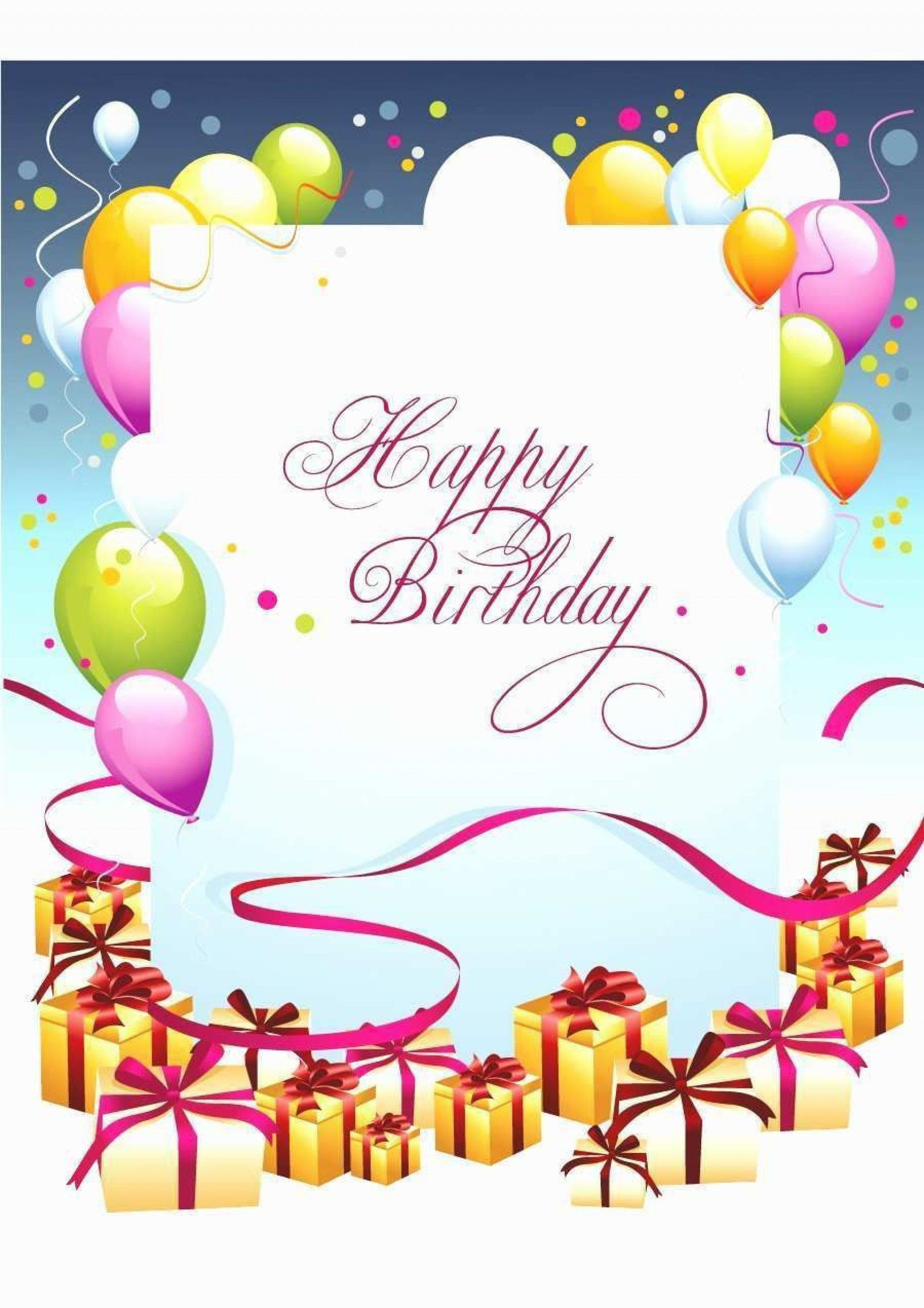 009 Staggering Birthday Card Template For Microsoft Word Inspiration  Free Greeting Layout1920