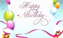 009 Staggering Birthday Card Template For Microsoft Word Inspiration  Free Greeting Layout