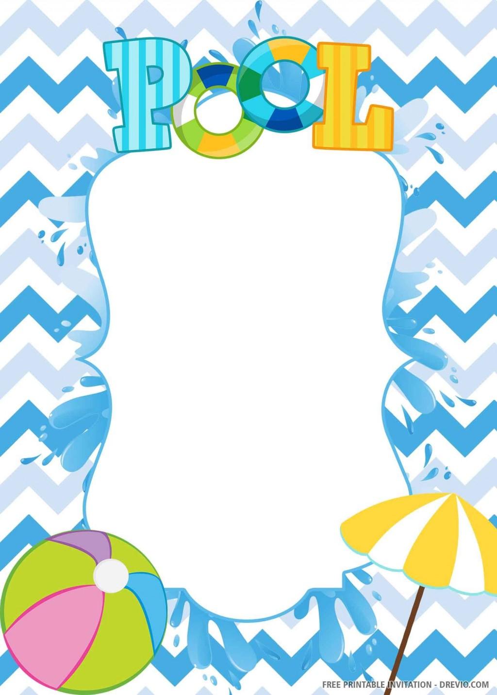 009 Staggering Birthday Invitation Template Word 2020 Idea Large