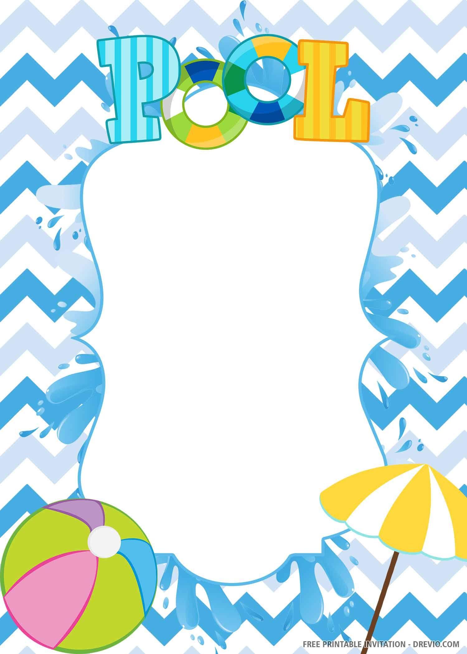 009 Staggering Birthday Invitation Template Word 2020 Idea Full