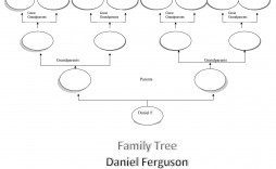 009 Staggering Editable Family Tree Template Online Free Example