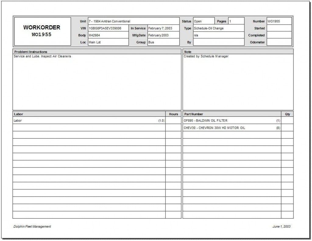 009 Staggering Excel Work Order Tracking Template High Resolution  Construction MicrosoftLarge