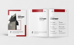 009 Staggering Free Adobe Indesign Annual Report Template Image