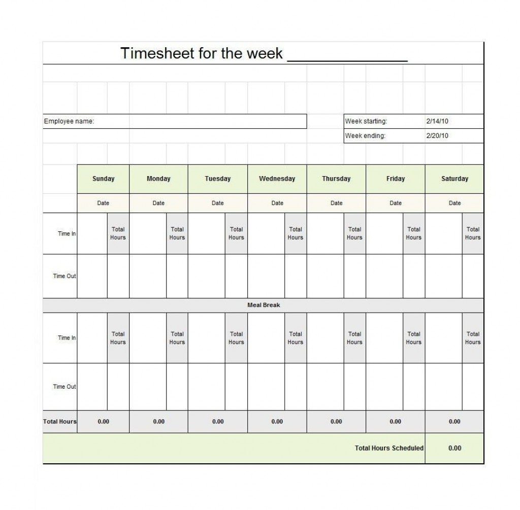 009 Staggering Free Employee Sign In Sheet Template Inspiration  Schedule Pdf Weekly Timesheet PrintableLarge