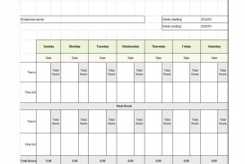 009 Staggering Free Employee Sign In Sheet Template Inspiration  Schedule Pdf Weekly Timesheet Printable