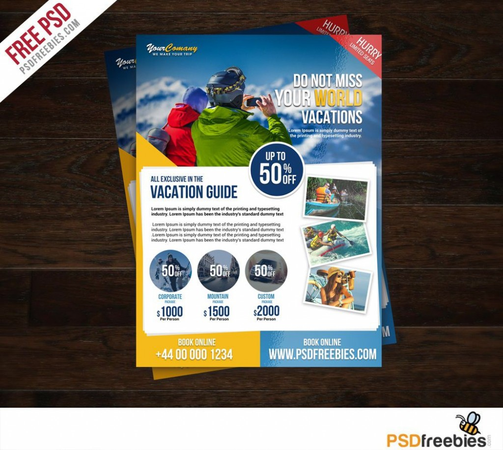 009 Staggering Free Travel Flyer Template Download Highest Clarity Large