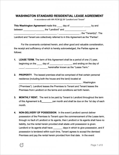009 Staggering Residential Lease Agreement Template Design  Tenancy Form Alberta California480