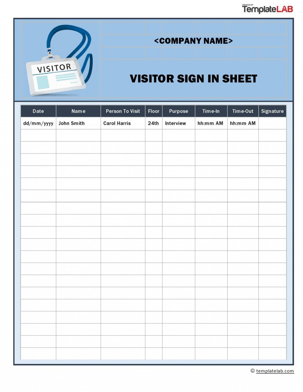 009 Staggering Visitor Sign In Sheet Template Pdf Photo Large
