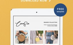009 Staggering Wholesale Line Sheet Template Image  Fashion Free Excel