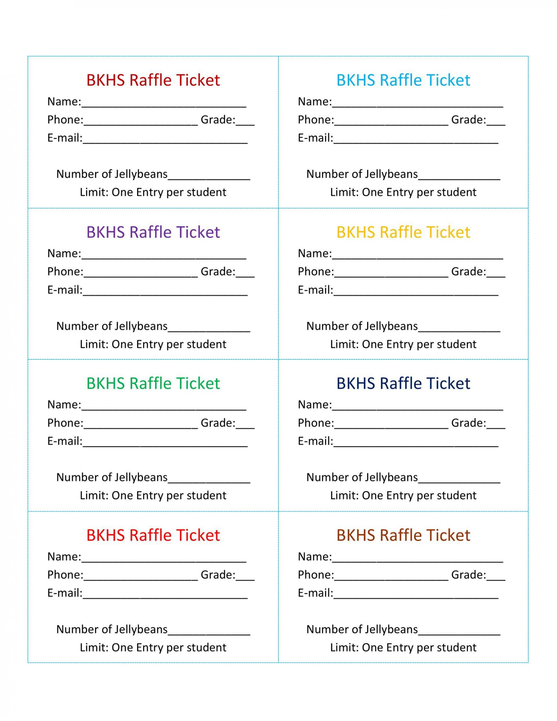 009 Staggering Word Raffle Ticket Template Picture  2010 Free Printable Microsoft1920