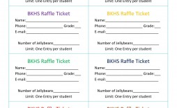 009 Staggering Word Raffle Ticket Template Picture  2010 Free Printable Microsoft