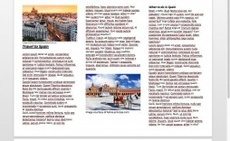 009 Staggering Word Tri Fold Brochure Template Example  2010 Microsoft M Office