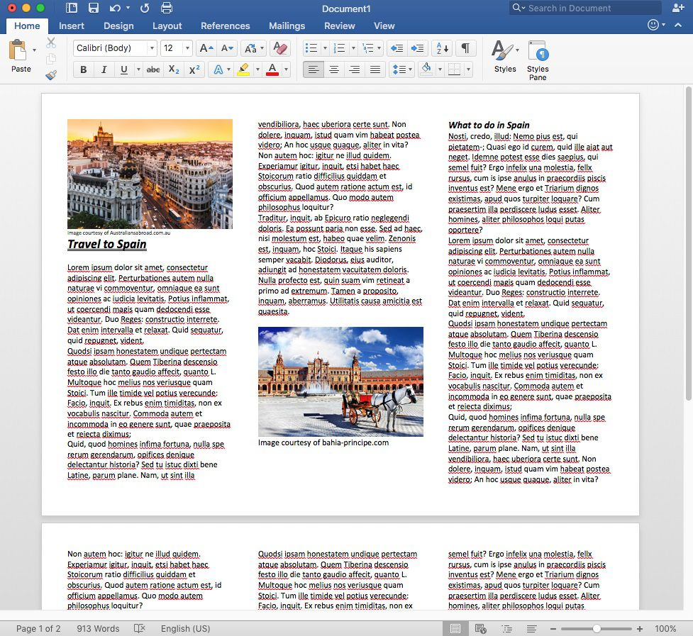 009 Staggering Word Tri Fold Brochure Template Example  2010 Microsoft M OfficeFull