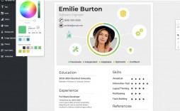 009 Stirring Create Resume Online Free Template Sample