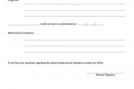009 Stirring Doctor Note Template Free Download Design  Fake