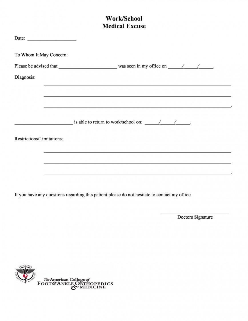 009 Stirring Doctor Note Template Free Download Design  Fake868