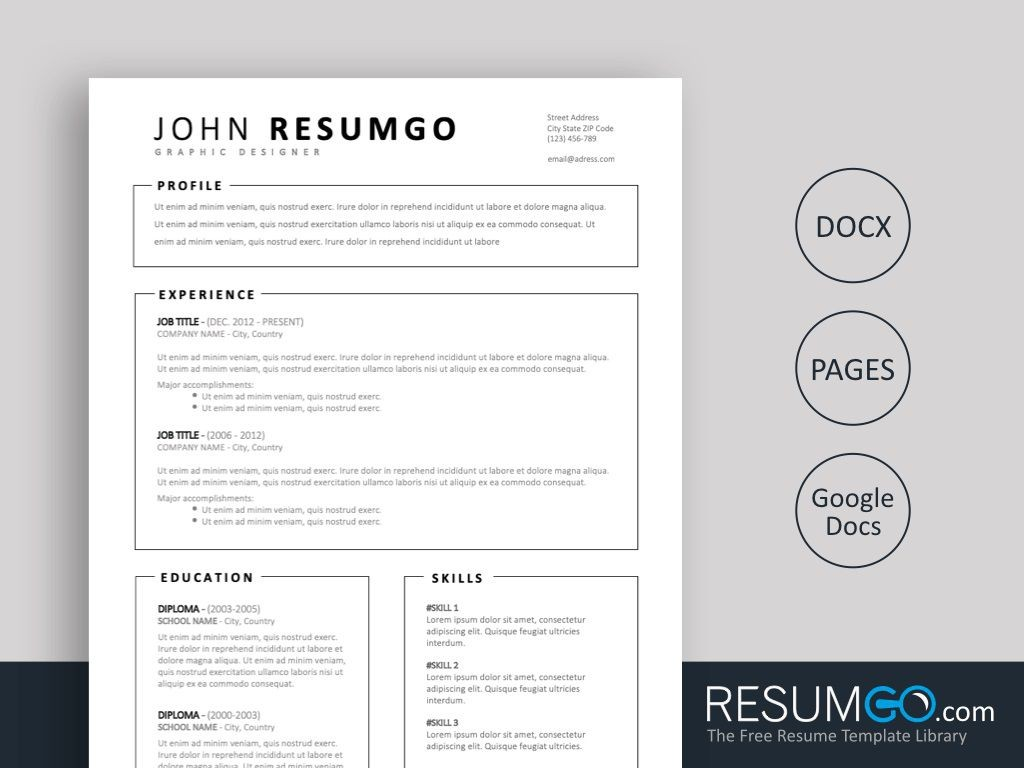 009 Stirring Easy Resume Template Free Design  Simple Download Online WordLarge