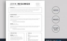009 Stirring Easy Resume Template Free Design  Simple Download Online Word