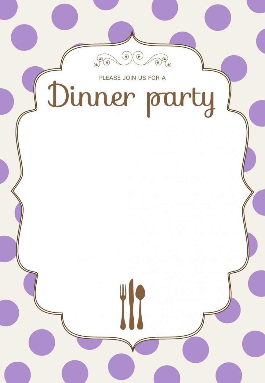 009 Stirring Free Dinner Invitation Template Highest Clarity  Templates Downloadable Rehearsal Printable