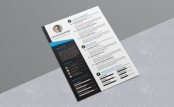 009 Stirring Free Stylish Resume Template Concept  Templates Word Download