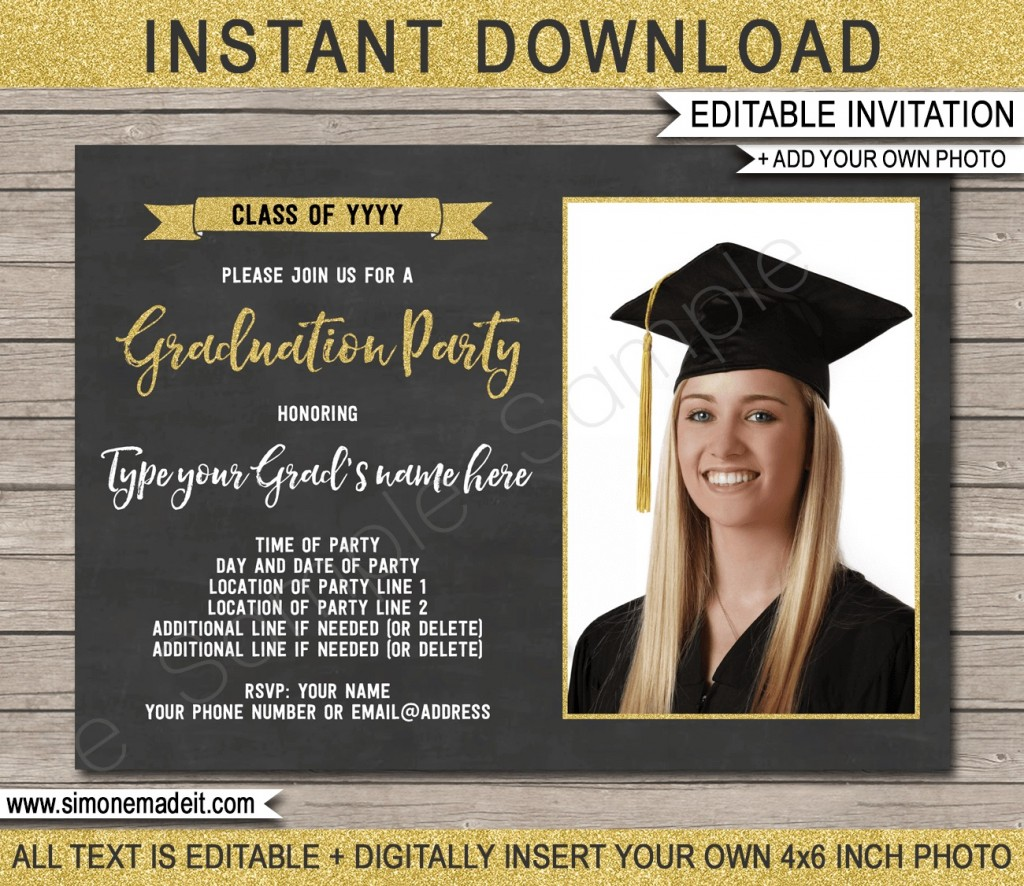 009 Stirring Graduation Party Invitation Template High Definition  Microsoft Word 4 Per PageLarge