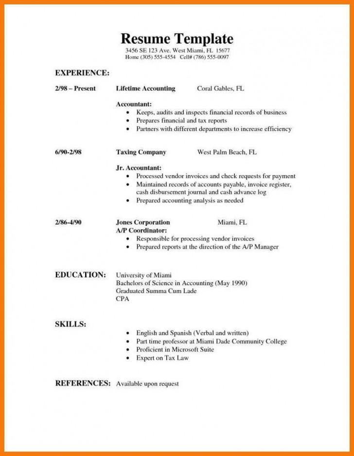 009 Stirring High School Student Resume Template Sample  Free Google Doc728