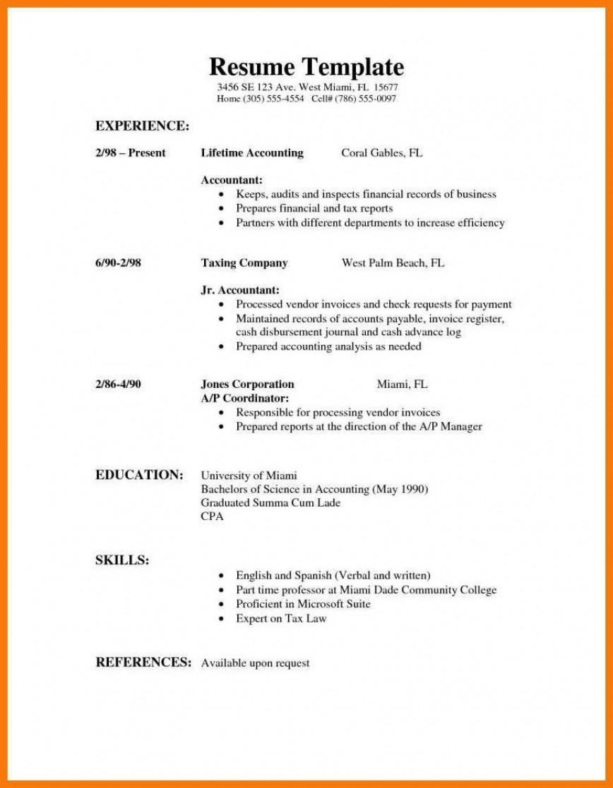 009 Stirring High School Student Resume Template Sample  Free Google Doc868