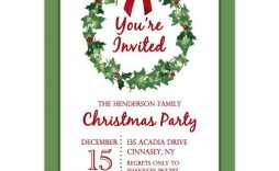 009 Stirring Holiday Party Invitation Template Free Inspiration  Christma Invite Online Word Editable Printable