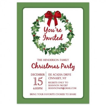 009 Stirring Holiday Party Invitation Template Free Inspiration  Elegant Christma Download Dinner Printable Australia360