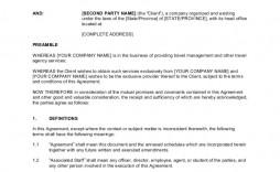 009 Stirring Master Service Agreement Template Inspiration  Free Australia